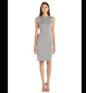 Calvin Klein Heathered Scuba Sheath Dress 8
